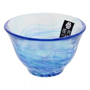 Aderia Hana Tsuzuri Glass Cup Ai