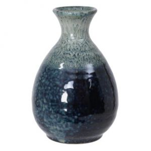 Blue/White Sake Bottle Tokkuri
